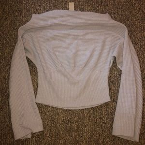 Free People Thermal Off the Shoulder Top